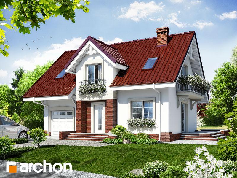 Dom v portulakách - Vizualizácia 1