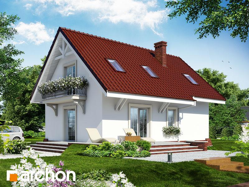Dom v portulakách - Vizualizácia 2