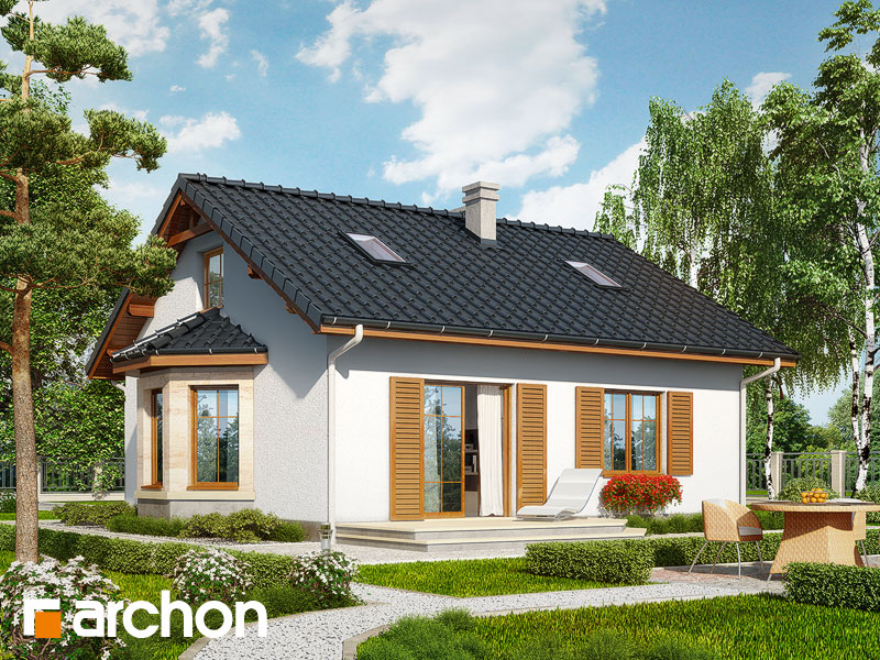 Dom v bobuliach (PD) - Vizualizácia 2