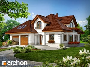 Projekt domu ARCHON+ Dom v monarde (G2)