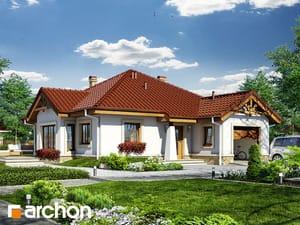 Projekt domu ARCHON+ Dom v ringlotách