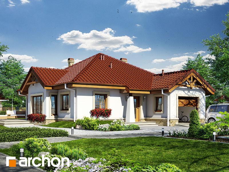 Dom v ringlotách  - Vizualizácia 1