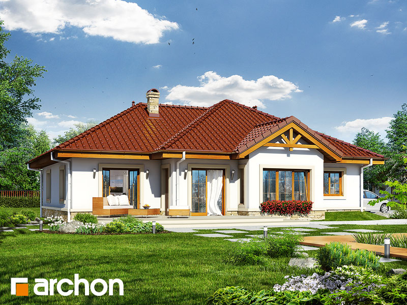 Dom v ringlotách  - Vizualizácia 2