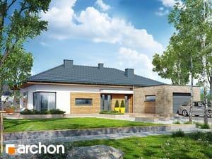 Projekt domu ARCHON+ Dom pod kakaovníkom 2