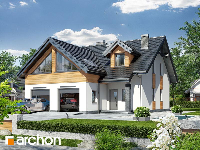 Dom v plamienkoch 11 - Vizualizácia 1