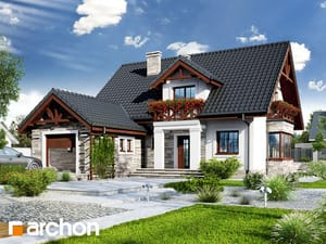 Projekt domu ARCHON+ Dom vo vrchovke