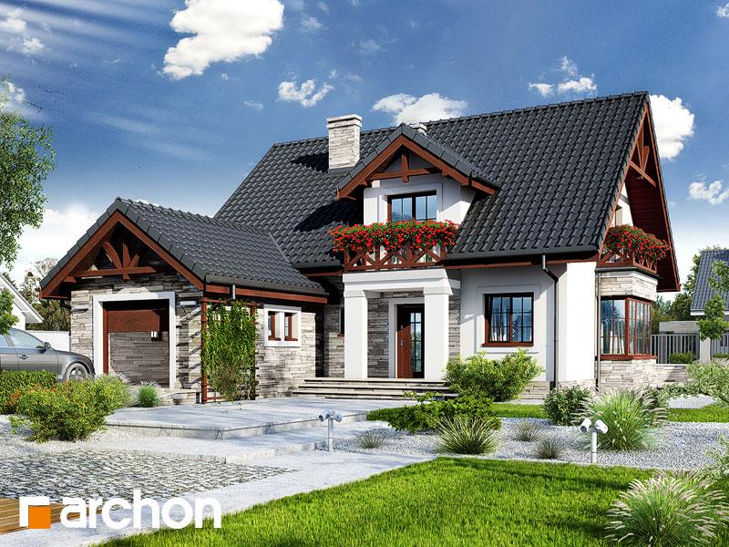 Dom vo vrchovke - Vizualizácia 1
