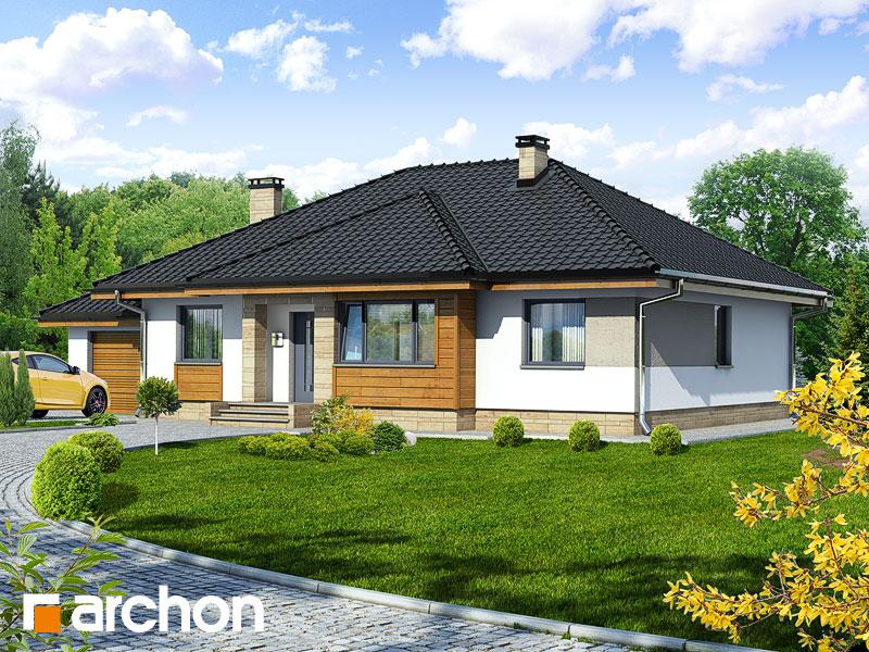 Dom v akébii - Vizualizácia 1