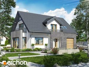Projekt domu ARCHON+ Dom v ozdobnici