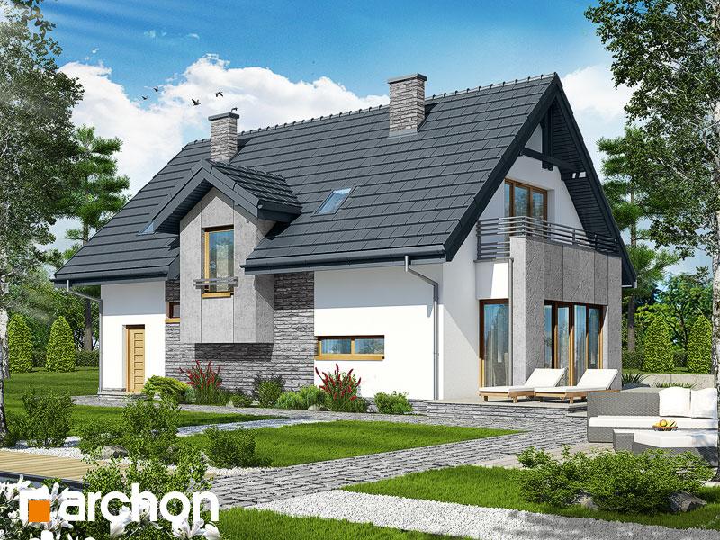 Dom v ozdobnici  - Vizualizácia 2