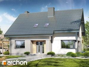 Projekt domu ARCHON+ Dom pri lesnej jabloni 19