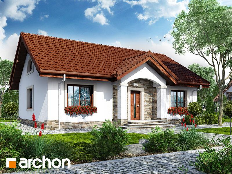 Dom v gazaniách - Vizualizácia 1