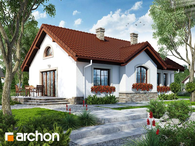 Dom v gazaniách - Vizualizácia 2