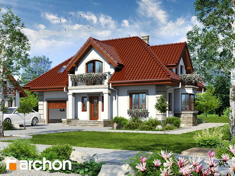 Dom v kérii  - Vizualizácia 1