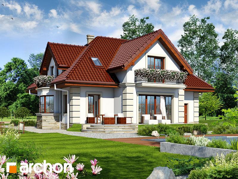 Dom v kérii  - Vizualizácia 2