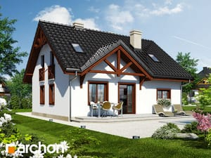 Projekt domu ARCHON+ Dom medzi čučoriedkami 3