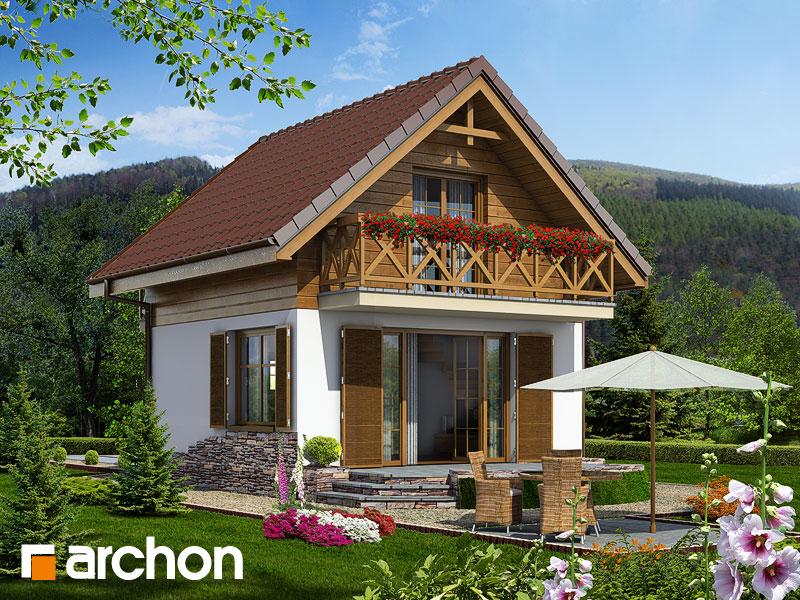Letný dom medzi šafranmi - Vizualizácia 1
