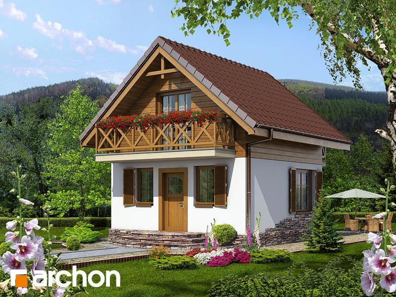 Letný dom medzi šafranmi - Vizualizácia 2