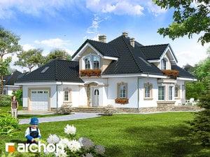 Projekt domu ARCHON+ Dom pri kokosoch (G)