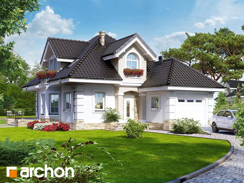 Dom v rukole - Vizualizácia 1