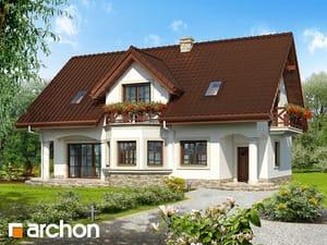 Projekt domu ARCHON+ Dom v majoráne 2