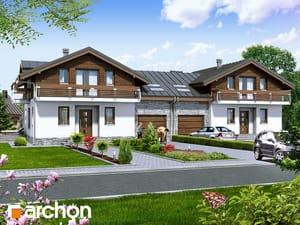 Projekt domu ARCHON+ Dom v budlejách (B)