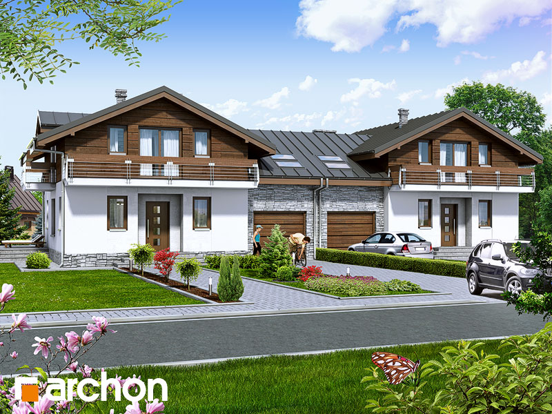 Dom v budlejách (B) - Vizualizácia 1