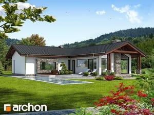 Projekt domu ARCHON+ Dom v žabníčku