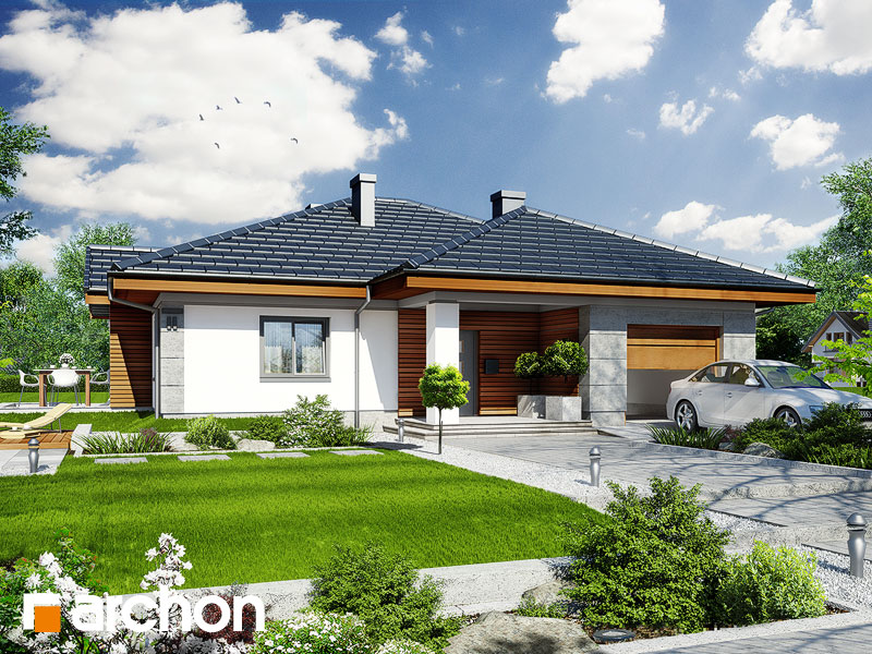 Dom v jonagoldách - Vizualizácia 1
