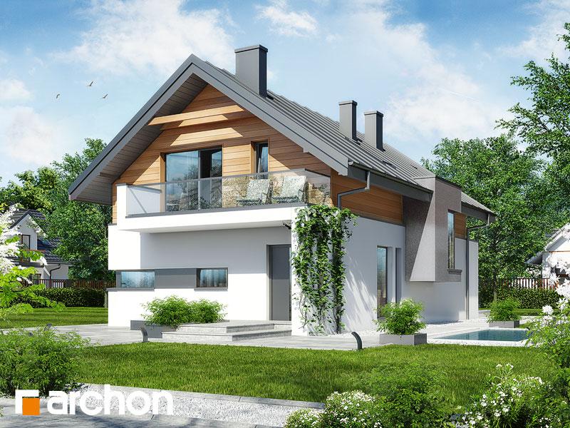 Dom v tiarely - Vizualizácia 1