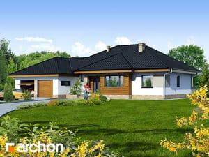 Projekt domu ARCHON+ Dom v akébii 2