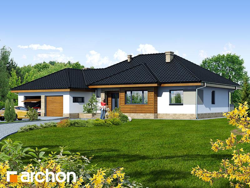 Dom v akébii 2 - Vizualizácia 1