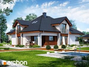Projekt domu ARCHON+ Dom pri hebe