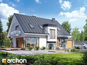 Projekt domu ARCHON+ Dom v amarilkách 2