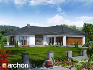 Projekt domu ARCHON+ Dom pod kakaovníkom