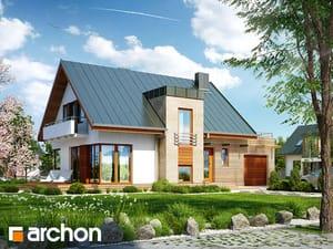 Projekt domu ARCHON+ Dom v amarilkách (P)