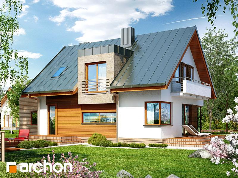 Dom v amarilkách (P) - Vizualizácia 2