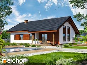 Projekt domu ARCHON+ Dom pod palisandrom