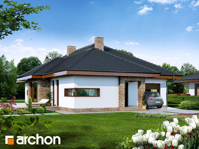 Dom v cypruštekoch - Vizualizácia 1