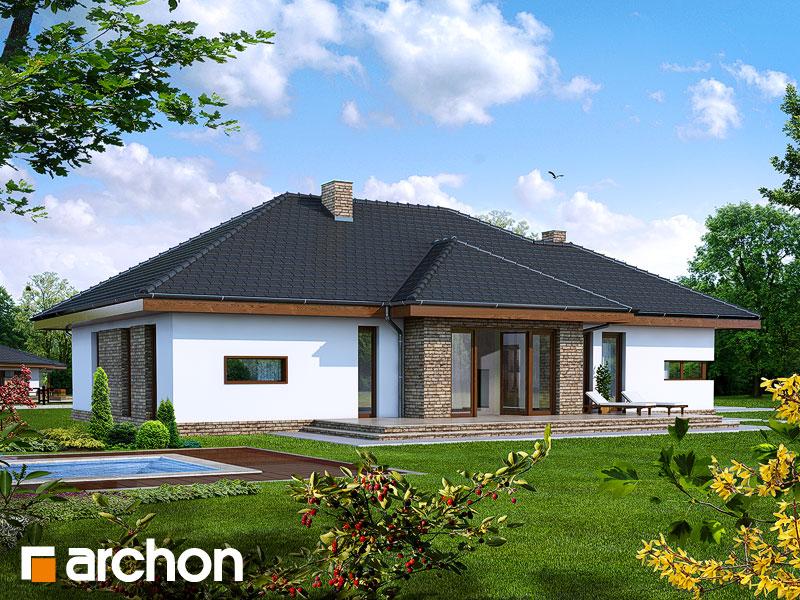 Dom v cypruštekoch - Vizualizácia 2