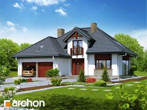 Projekt domu ARCHON+ Dom v kalateách 2