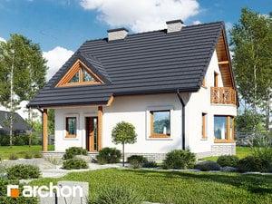 Projekt domu ARCHON+ Dom pod bukmi 4 ver.2