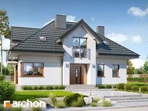 Projekt domu ARCHON+ Dom v slivkach 2