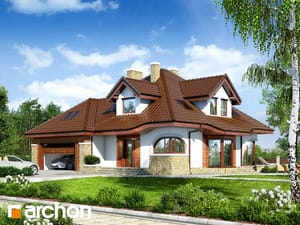 Projekt domu ARCHON+ Dom v zefirante (G2)