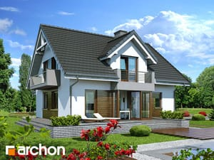 Projekt domu ARCHON+ Dom medzi rododendronmi 5 (N)