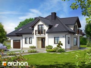 Projekt domu ARCHON+ Dom v hyacintovcoch