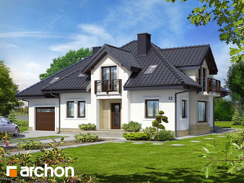 Dom v hyacintovcoch  - Vizualizácia 1