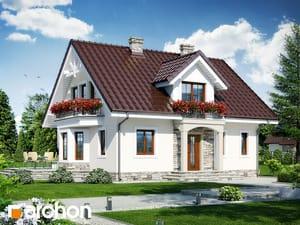 Projekt domu ARCHON+ Dom medzi rododendronmi 6 (W) ver.2