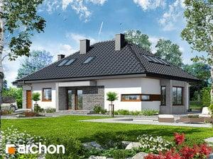 Projekt domu ARCHON+ Dom pod jarabinou (GPDN)