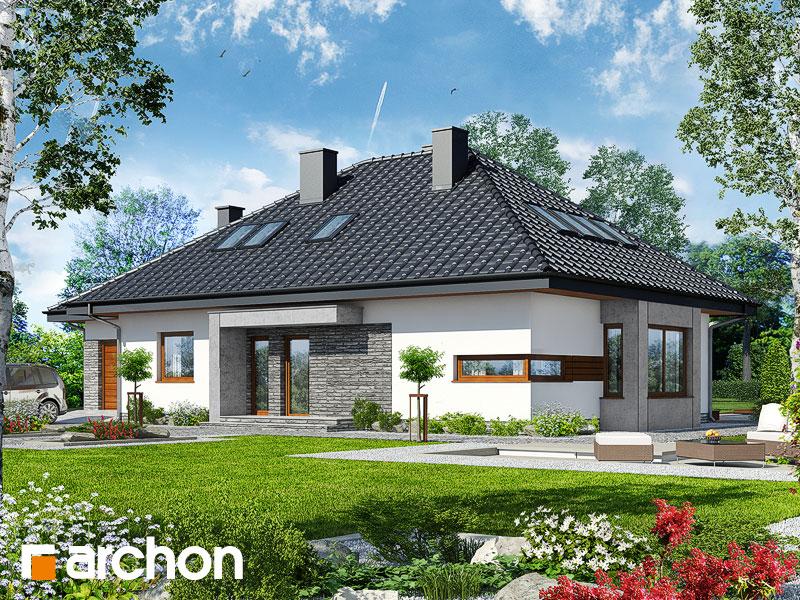 Dom pod jarabinou (GPDN) - Vizualizácia 1